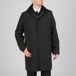 Cianni Cellini Men's 'Rudy' Raincoat with Snap-out Liner (Option: 36r)|https://ak1.ostkcdn.com/images/products/7472179/P14919402.jpg?impolicy=medium