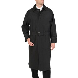 Cianni Cellini Men's 'Renny' Full-length Belted Raincoat (More options available)