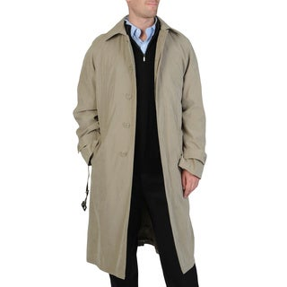 Cianni Cellini Men's 'Renny' Full-length Belted Raincoat (Option: 38r)