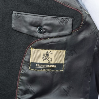 Pronto Moda Men's Wool/ Cashmere Blend Sportcoat