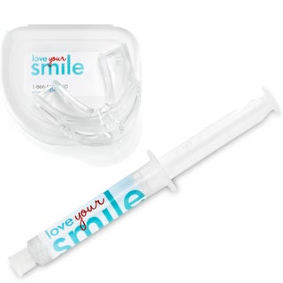 Love Your Smile Teeth Whitening Kit: Tray, Case and Mega-size Teeth Whitening Gel