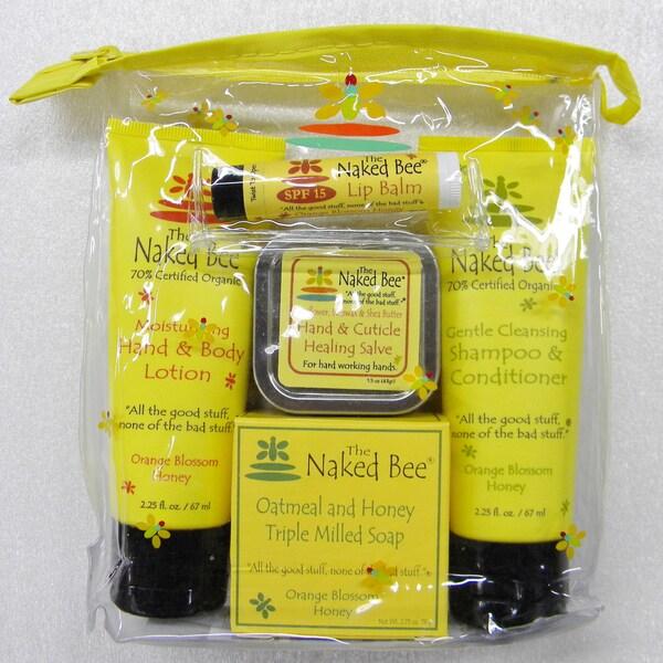 The Naked Bee Orange Blossom & Honey Travel Kit