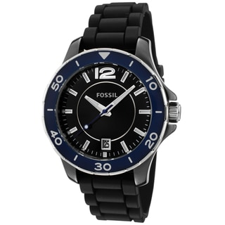 Fossil Unisex CE1036 Black Silicon Watch