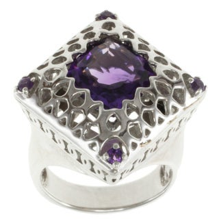 Michael Valitutti/ Jason Dow Amethyst Ring