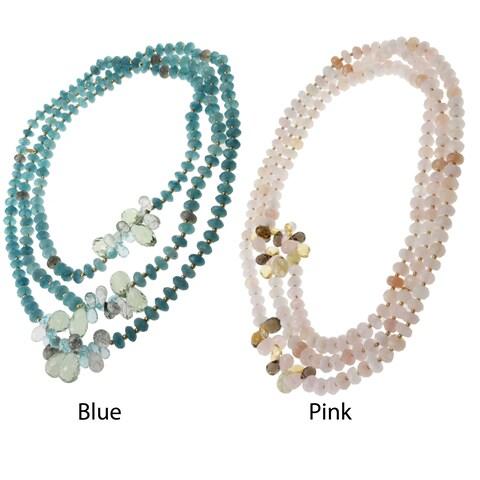 Michael Valitutti Multi-gemstone Necklace