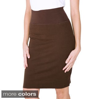 American Apparel Women's Interlock Pencil Skirt - Free Shipping On ...