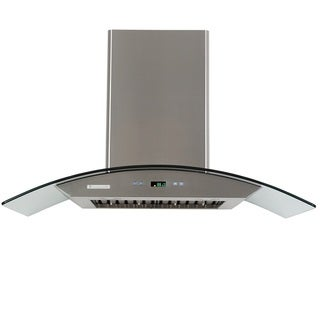 Xtremeair Pro-X Stainless Steel and Glass 42-inch Island Range Hood