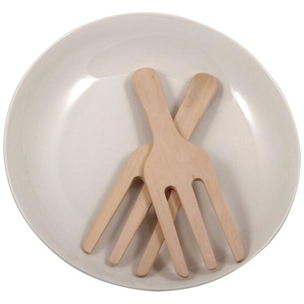 KitchenWorthy 3-piece Salad and Pasta Serveware Set