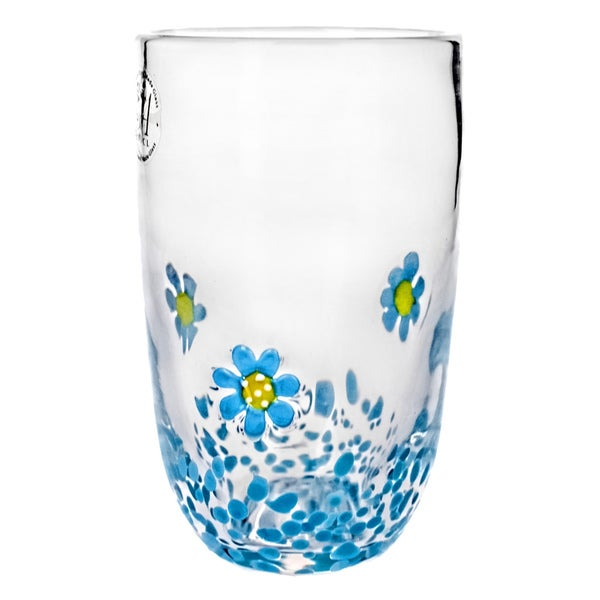 Flower Field Hiball Glasses (Set of 4)