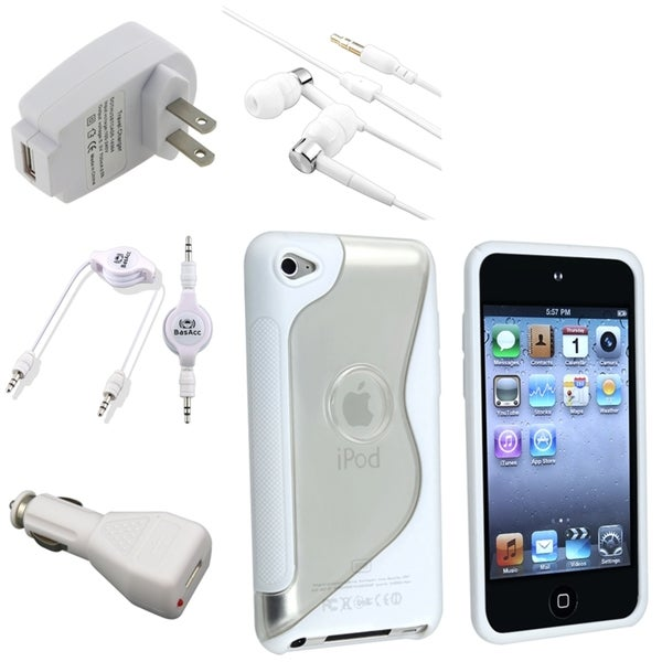 BasAcc Headset/ Case/ Chargers for Apple iPod Touch 4th Generation