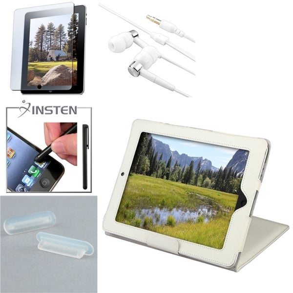 Case/ INSTEN Stylus/ Protector/ Headset/ Dock Plug for Apple iPad 1