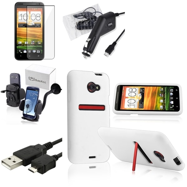 BasAcc Case/ Protector/ Charger/ Cable/ Holder for HTC EVO 4G LTE