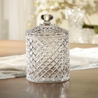 Fifth Avenue Murfield Crystal Jar with Lid