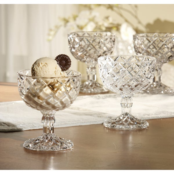 Fifth Avenue Crystal 'Muirfield' Pedestal Cups (Set of 2)
