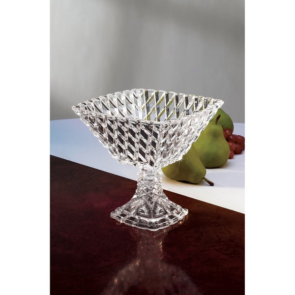 Fifth Avenue Crystal 'Muirfield' Pedestal Compote Square