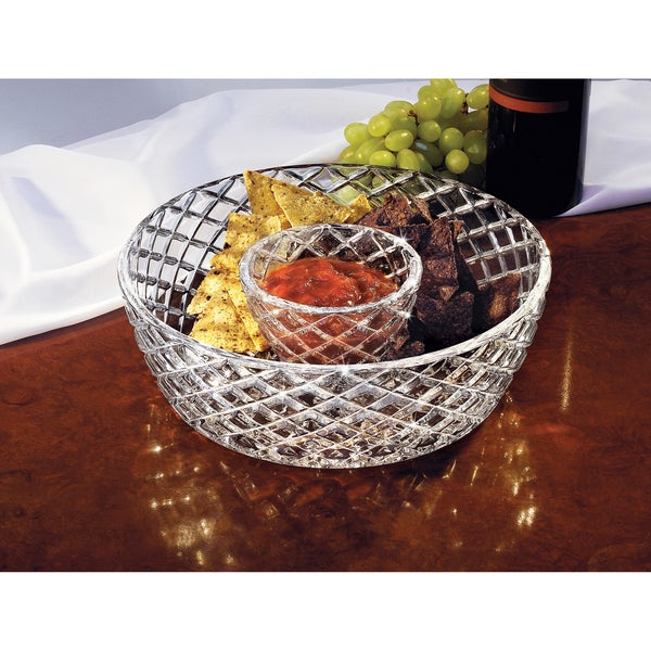 Fifth Avenue Crystal 'Muirfield' Chip Dip Serving Bowls
