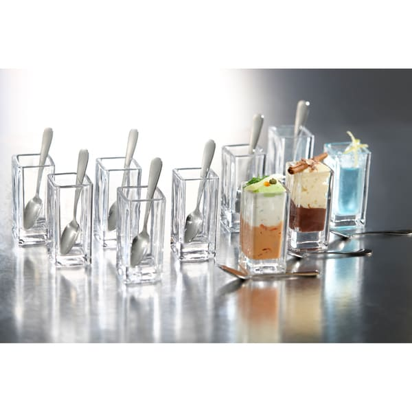 Fifth Avenue Crystal Lugano Taster Shots 21-piece Set