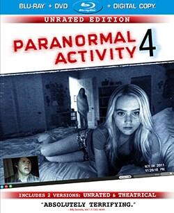 Paranormal Activity 4 (Blu-ray/DVD)