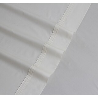 300 Thread Count Cotton Percale Extra Deep Pocket Sheet Set with Oversize Flat (More options available)