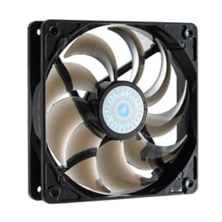 Cooler Master SickleFlow 120 - Sleeve Bearing 120mm Silent Fan for Co