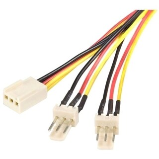 StarTech.com Splitter cable - TX3 fan power - 12in