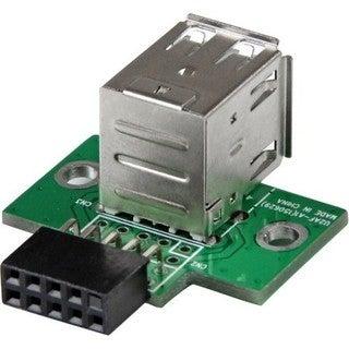 StarTech.com 2 Port USB Motherboard Header Adapter - USB A to USB 10