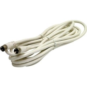 Steren BL-215-025WH Coaxial Patch Cable