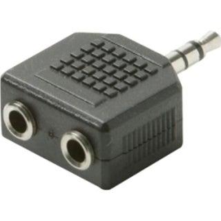 Steren BL-265-454BK Premium Stereo Headphone Splitter