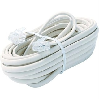 Steren BL-324-015WH Premium Telephone Line Cable