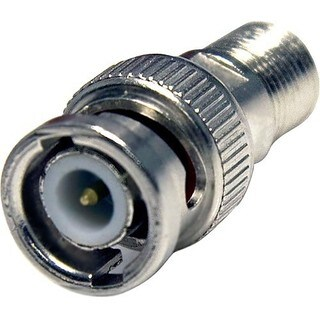 StarTech.com BNC to F Type Coaxial Adapter M/F