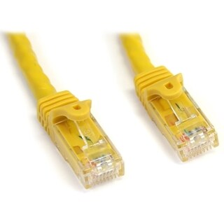 StarTech.com 10 ft Yellow Snagless Cat6 UTP Patch Cable