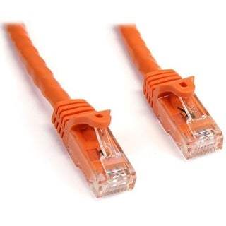 StarTech.com 25 ft Orange Snagless Cat6 UTP Patch Cable