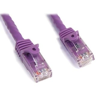 StarTech.com 7 ft Purple Snagless Cat6 UTP Patch Cable