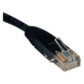 Tripp Lite 4ft Cat5e / Cat5 350MHz Molded Patch Cable RJ45 M/M Black