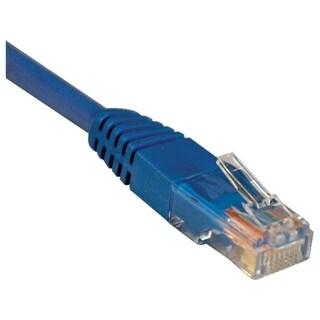 Tripp Lite 6ft Cat5e / Cat5 350MHz Molded Patch Cable RJ45 M/M Blue 6
