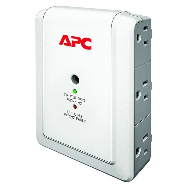 APC by Schneider Electric SurgeArrest Essential P6WT 6-Outlets Surge