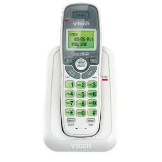 VTech CS6114 DECT 6.0 Cordless Phone with Caller ID/Call Waiting, Whi