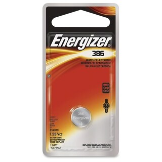 Energizer Watch/Electronic Battery 386 1.5 volts 1 pk