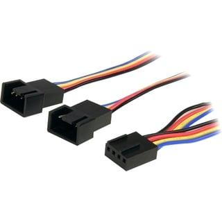 12in 4 Pin Fan Power Splitter Cable - F/M