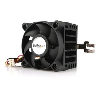 StarTech.com 50x50x41mm Socket 7/370 CPU Cooler Fan w/ Heatsink and T