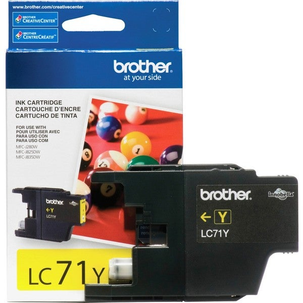 Brother Innobella LC71Y Original Ink Cartridge
