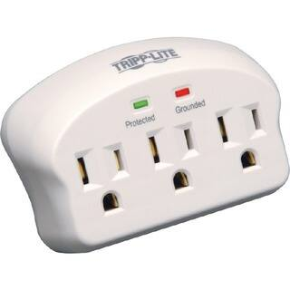 Tripp Lite Surge Protector Wallmount Direct Plug In 3 Outlet 660 Joul|https://ak1.ostkcdn.com/images/products/7476558/P14923178.jpg?impolicy=medium