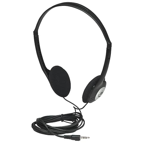 Manhattan Lightweight Stereo Headphones with Cushioned Earpads