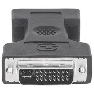 Manhattan DVI-I Dual Link Male to VGA Female Digital Video Adapter