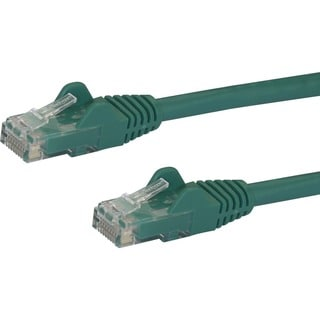 StarTech.com 5 ft Green Snagless Cat6 UTP Patch Cable