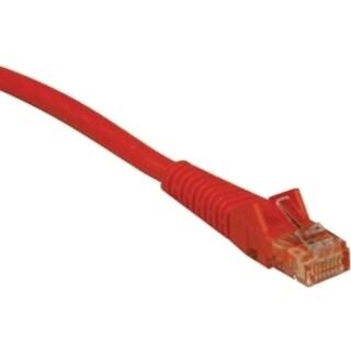 Tripp Lite 7ft Cat5e / Cat5 Snagless Molded Patch Cable RJ45 M/M Oran