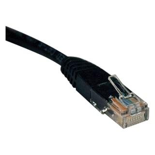 Tripp Lite 15ft Cat5e / Cat5 350MHz Molded Patch Cable RJ45 M/M Black