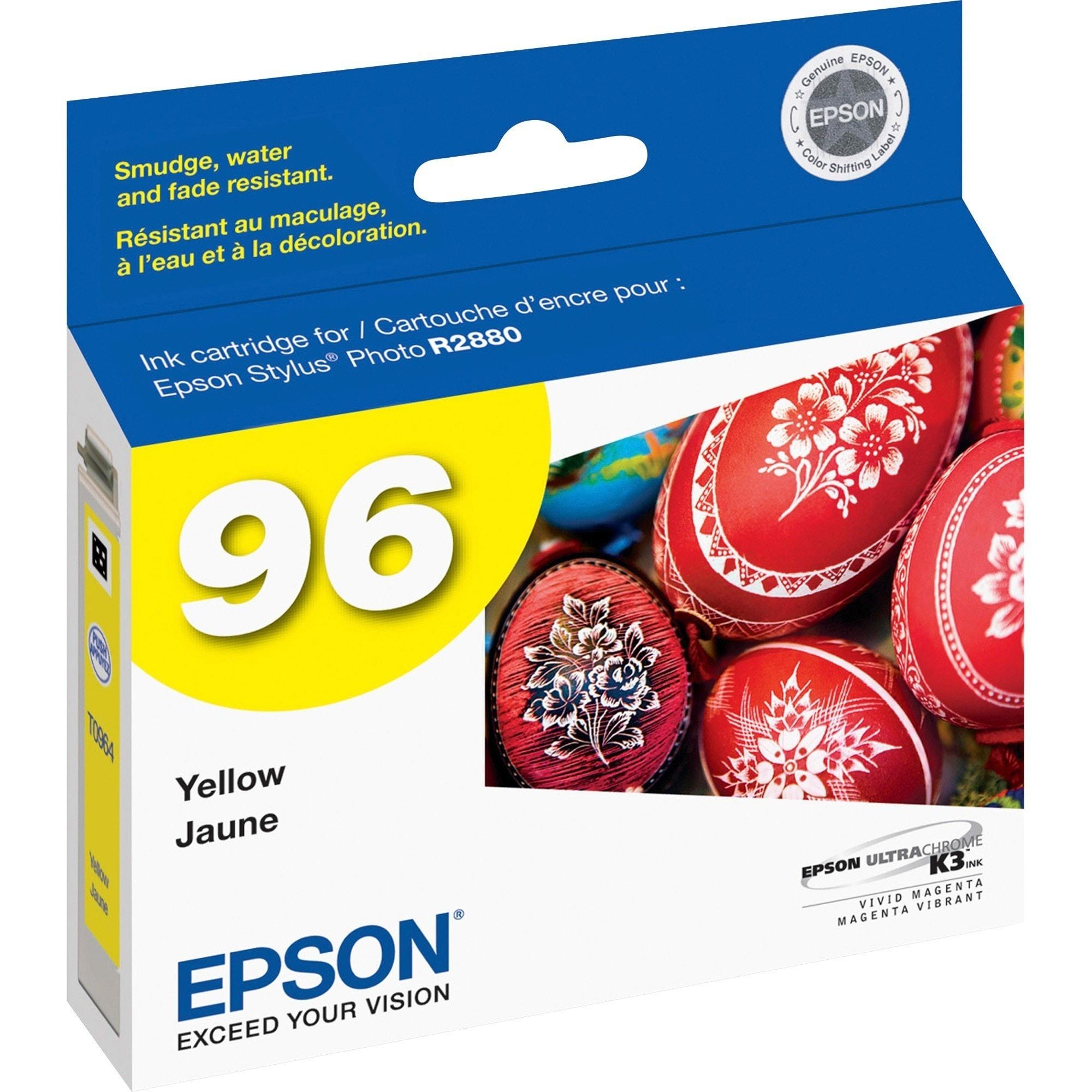 Epson Original Ink Cartridge, Yellow #T096420