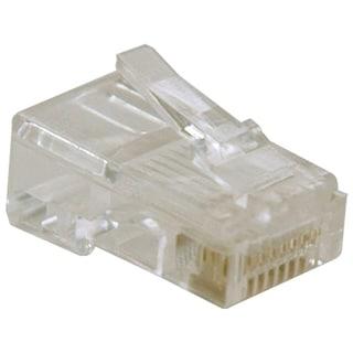Tripp Lite RJ45 for Solid / Standard Conductor 4-Pair Cat5e Cat5 Cabl