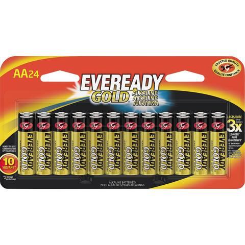 Energizer Gold Alkaline AA Batteries